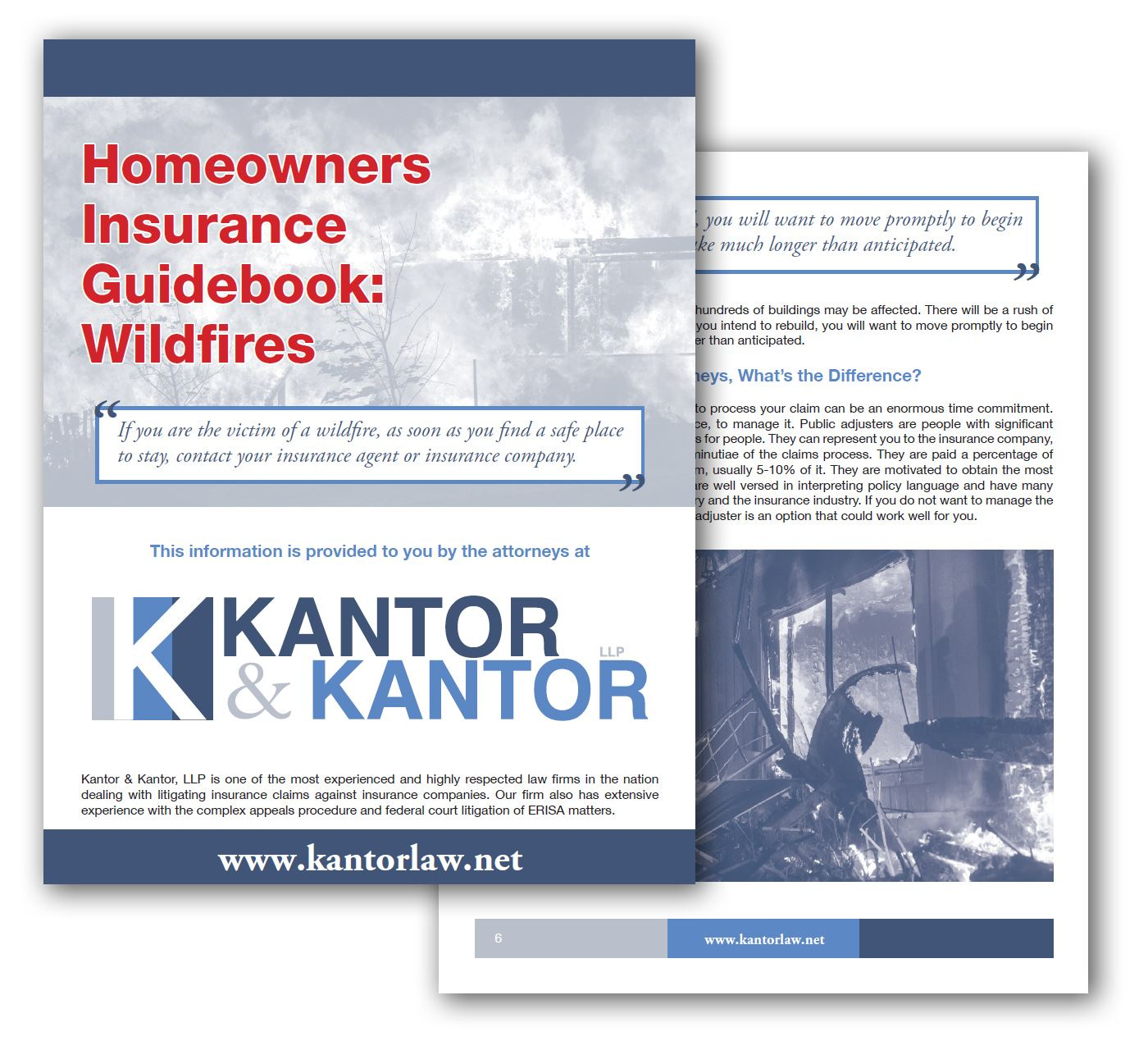 Click Here to View Our Wildfires Insurance Claims Guidebook for Homeowners in California